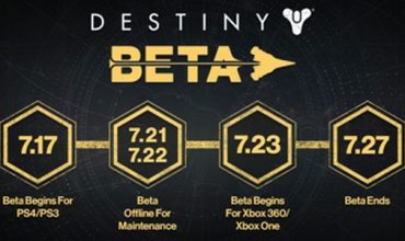 Reminder: The Destiny Beta Will Be Offline Till Wednesday
