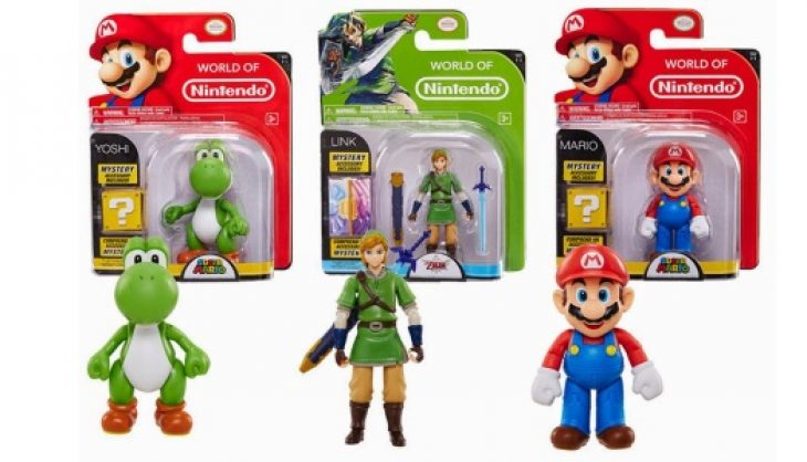 Check Out These World of Nintendo Figures From Jakks Pacific