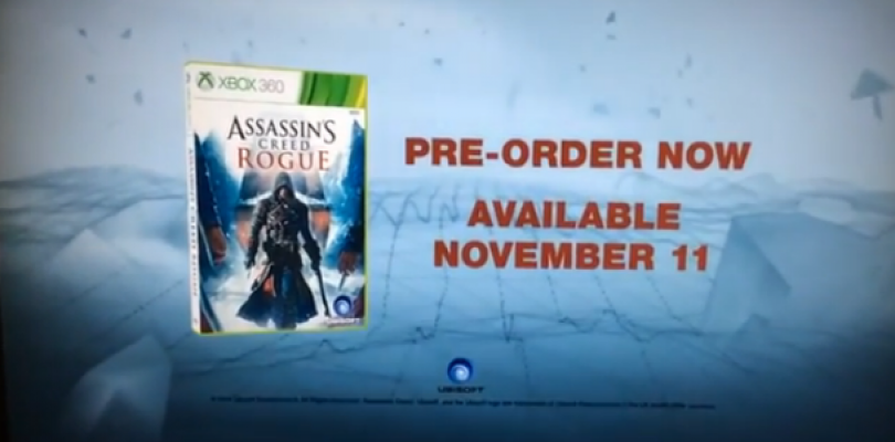 Updated: Assassin's Creed: Rogue teaser trailer leaked