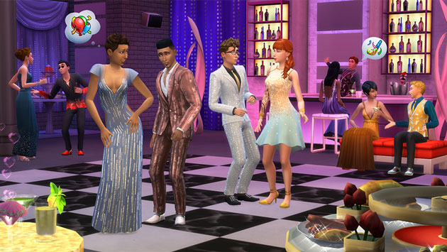 Sims 4 Luxury Party Stuff