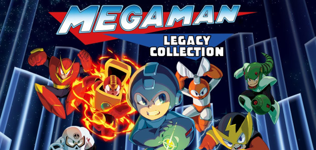 Mega Man Legacy Collection Feature