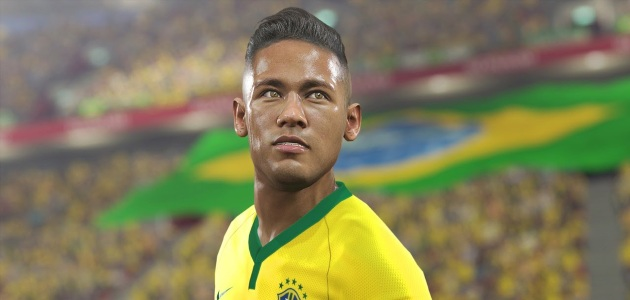 37bc3209b5b4 Brazilian Forward Winger and Barcelona superstar Neymar Jr. is the feature  player on the cover of Pro Evolution Soccer 2016. As part of his brand  ambassador ...