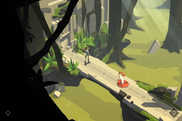 Lara Croft Go Enemy