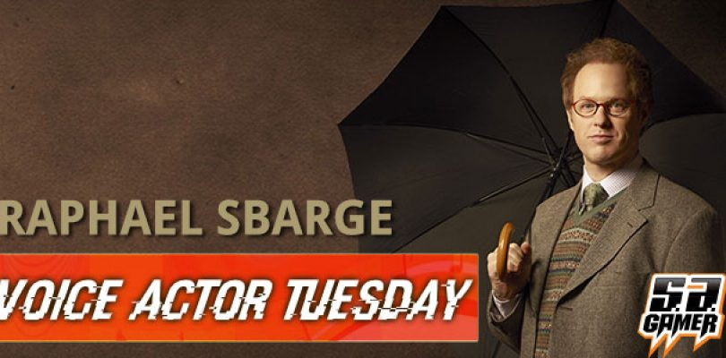 Voice Actor Tuesday: Raphael Sbarge
