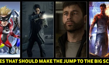 4 Games that should be made into movies