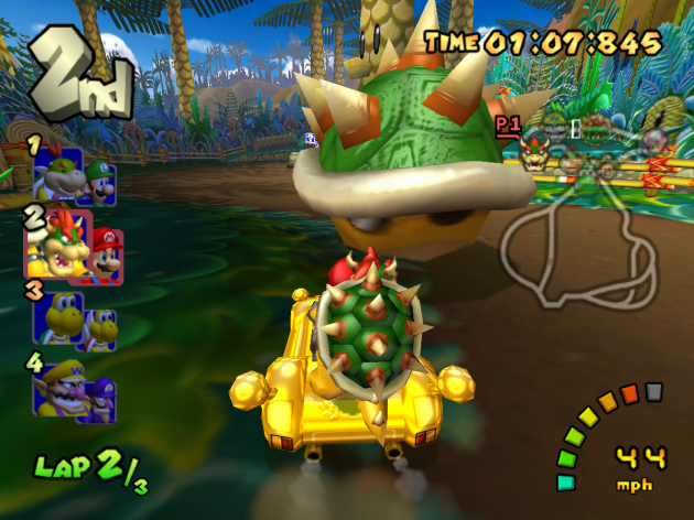 Mario Kart Double Dash Bowser Shell Item
