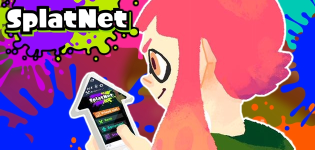 SplatNet Splatoon