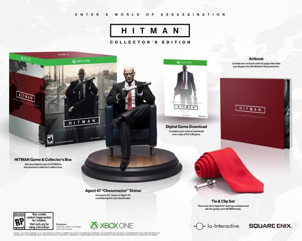 Hitman collectors edition