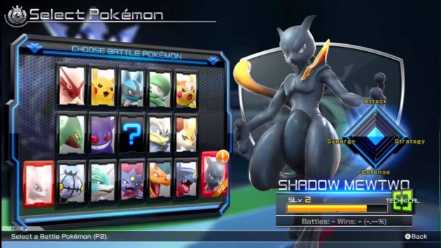 Pokkén Tournament Roster