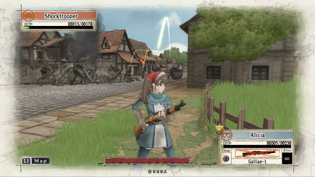 Valkyria Chronicles Alicia