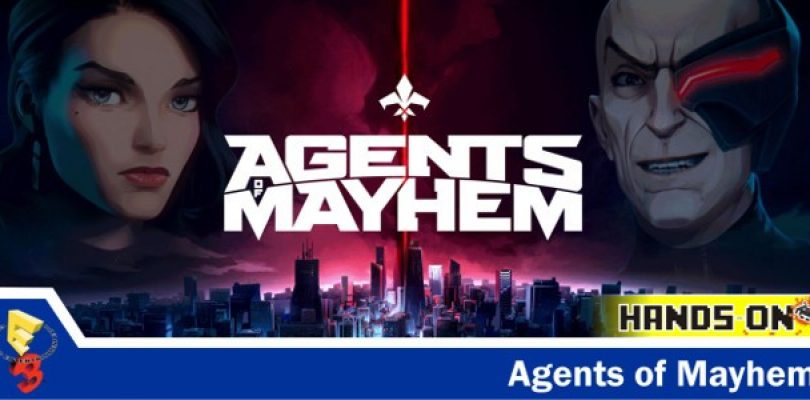 E3 hands-on: Agents of Mayhem