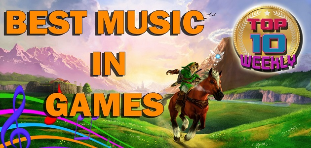 Best music in games header site