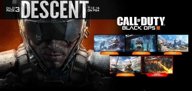 Call of Duty Black ops 3 Descent DLC pack 3
