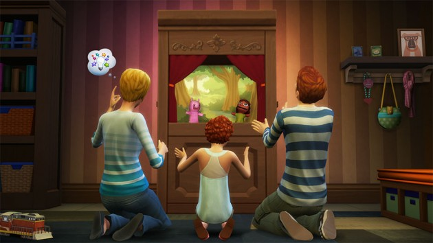 The Sims 4 Kids Rooms Stuff Pack