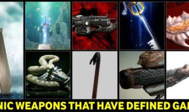 Nine of the most Iconic weapons in Video Games