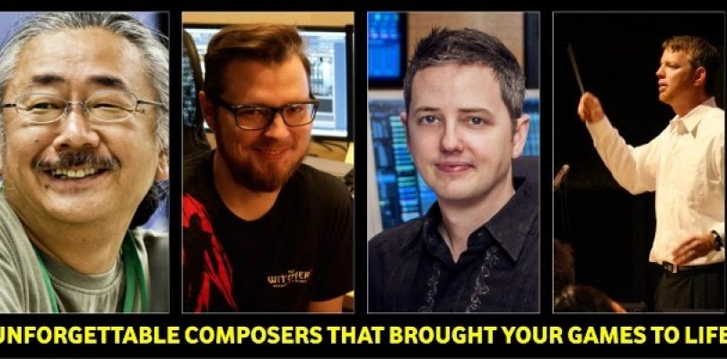 Four composers who bring our gaming worlds to life