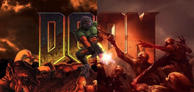 Video: Watch the first level of modern Doom recreated in