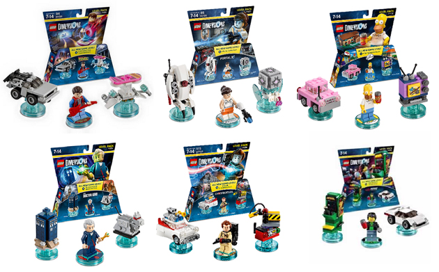 LEGO Dimensions Level Packs