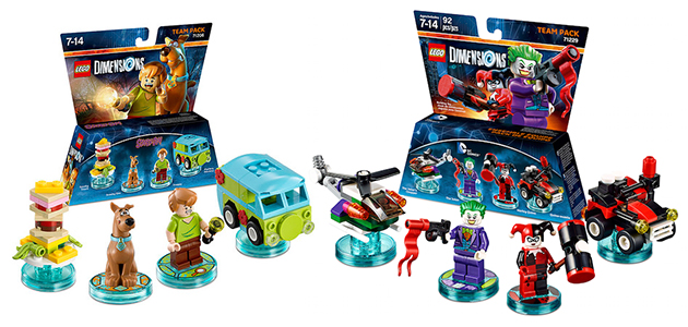LEGO Dimensions Team Packs