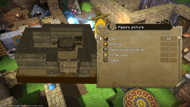 DRAGON QUEST BUILDERS_Crafting