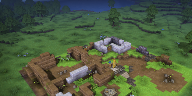 DRAGON QUEST BUILDERS_In the beginning
