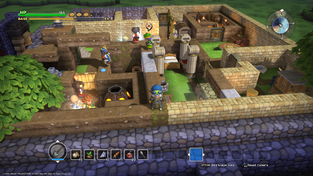 DRAGON QUEST BUILDERS_The Town