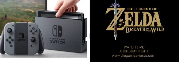Nintendo Switch and The Legend of Zelda