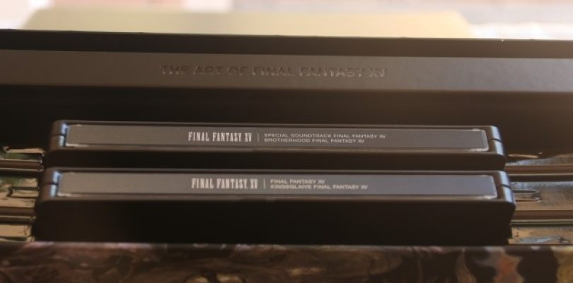 A look inside the Final Fantasy XV Ultimate Collector's Edition