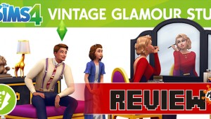 Sims 4 Vintage Glamour Stuff Pack