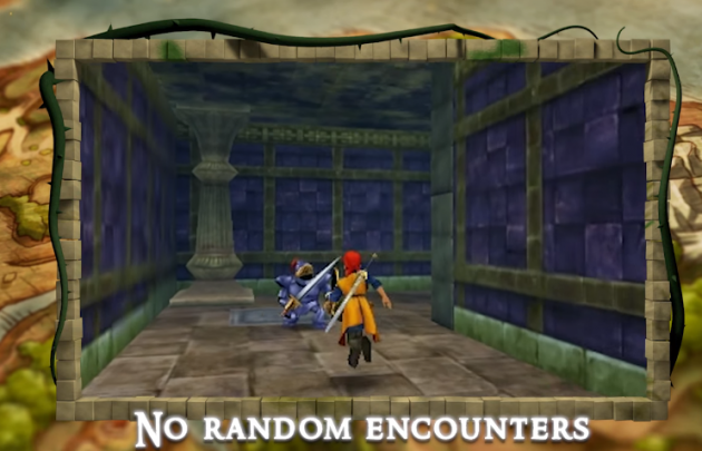 Dragon Quest VIII No Random Encounters