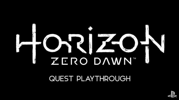 Horizon Zero Dawn Quest Playthrough