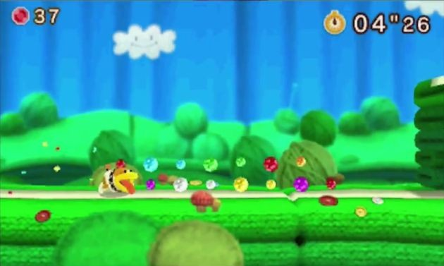 yoshi woolly world 3ds 2