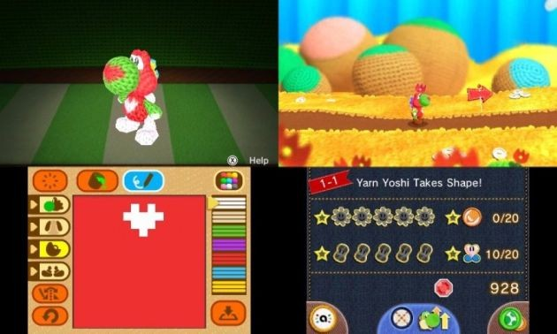 yoshi woolly world 3ds 3.png