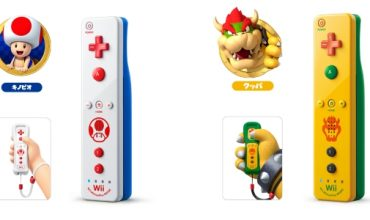 Toad & Bowser Wii Remotes Coming To Japan