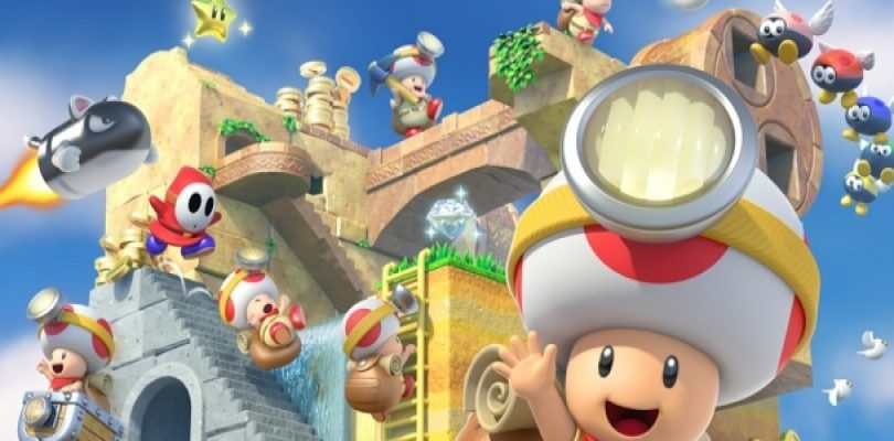 Here's the Captain Toad: Treasure Tracker TV Commercial