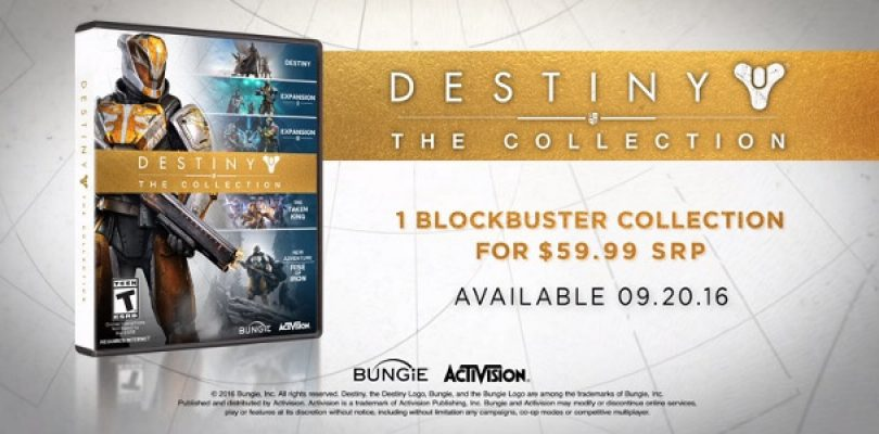 Destiny's getting a 'Collection' release with Rise of Iron