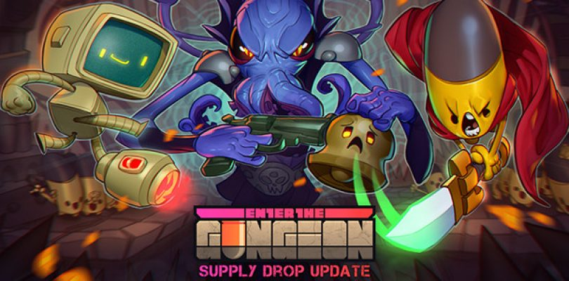 "Enter the Gungeon ""Supply Drop"" update adds a good deal of stuff"