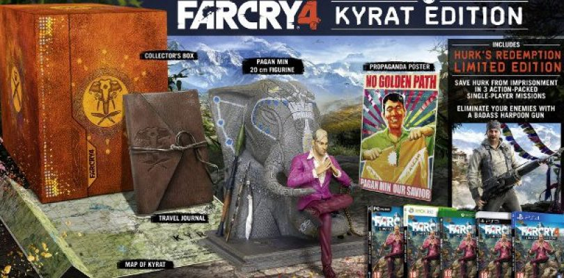 Have a Look at What's In the Far Cry 4 Collector's Edition