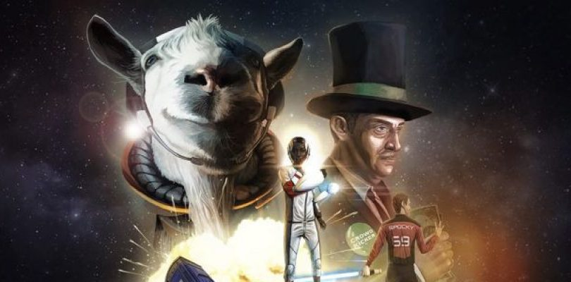 Goat Simulator goes to space, with the best trailer EVER!