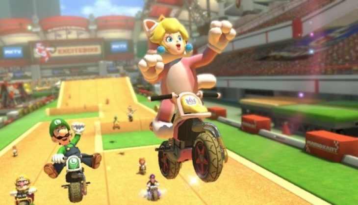 Excitebike Arena Revealed As Mario Kart 8 DLC