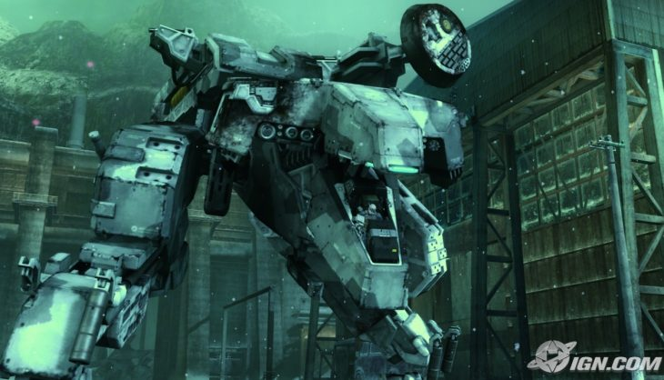 A Metal Gear Rex Cosplay?