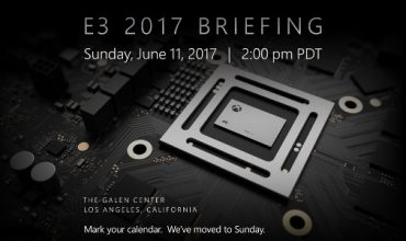 Microsoft confirms E3 press conference date and lots of Scorpio