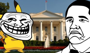 Pikachu Attacks The White House