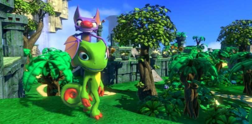 Yooka-Laylee has gone gold and on track for release
