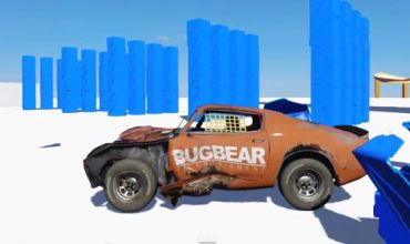 Video: Amazing car damage and physics showcase from Flatout devs