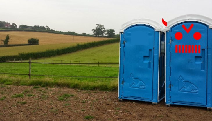 Portable toilets are evil in inFamous: First Light…