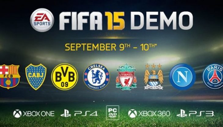 Kick off with the FIFA 15 Demo Today