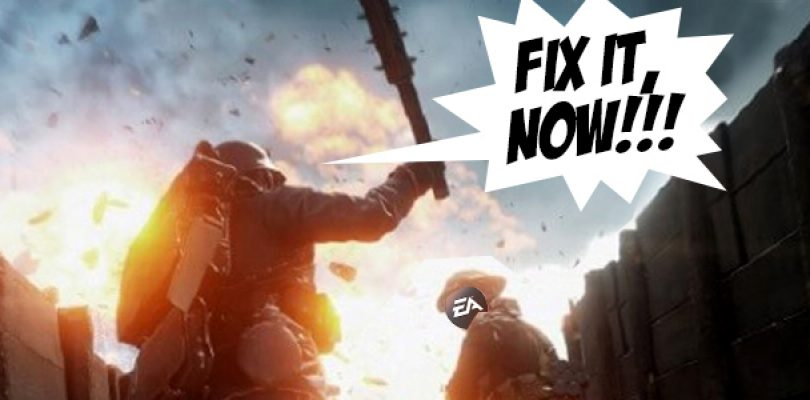 Ragers gonna rage: BF1 players unhappy with server issues