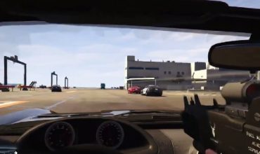 Yes, you can play GTA V remastered in first-person mode