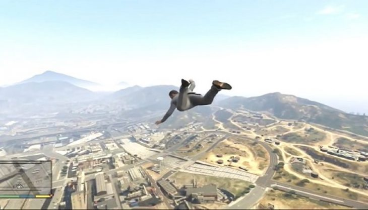 Your cell phone gives you wings in new GTA V cheat